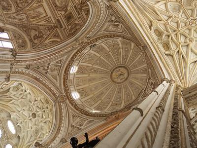 Cordoba - Mezquita / Catedral - Dôme de la cathédrale