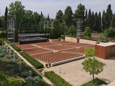 Granada - Generalife - Teatro (le nouvel amphithéâtre)
