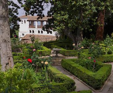 Granada - Generalife - Jardines Altos (Jardins Supérieurs), Palacio