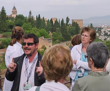 Granada - Alhambra - Antoine, le guide
