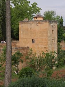 Granada - Alhambra - Torre de las Infantas