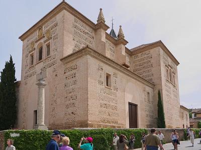 Granada - Alhambra - Eglise Santa Maria de la Alhambra