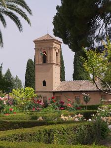 Granada - Alhambra - Parador de San Francisco (ancien monastère)