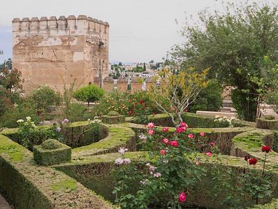 Granada - Alhambra - Tour des Poules