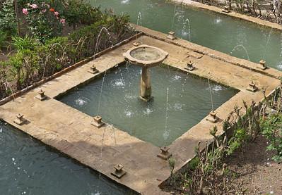 Granada - Generalife - Patio del Ciprés de la Sultana