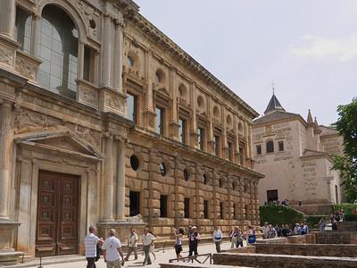 Granada - Alhambra - Palacio de Carlos V (Palais de Charles Quint)