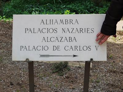 Granada - Du Generalife vers l'Alhambra...