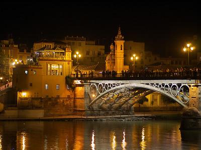 Sevilla - Puente de Isabel II, Guadalquivir