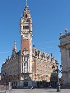 Lille - Chambre de Commerce, place du Théâtre