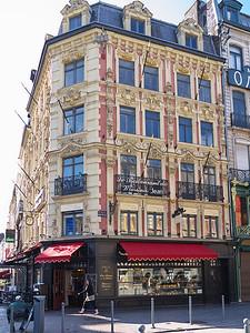 Lille - Place du Théâtre / rue des Manneliers