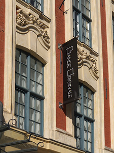 """Lille - Place du Théâtre, enseigne """"Bande Originale"""""""