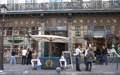 Lille - Rue Esquermoise - Boulangerie, patisserie, salon de thé Meert