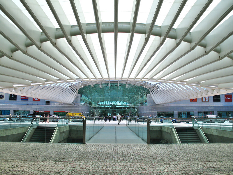 Lisbonne - Oriente - Gare
