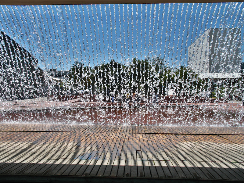 Lisbonne - Oriente - Jardim da agua, Passeio Ulisses