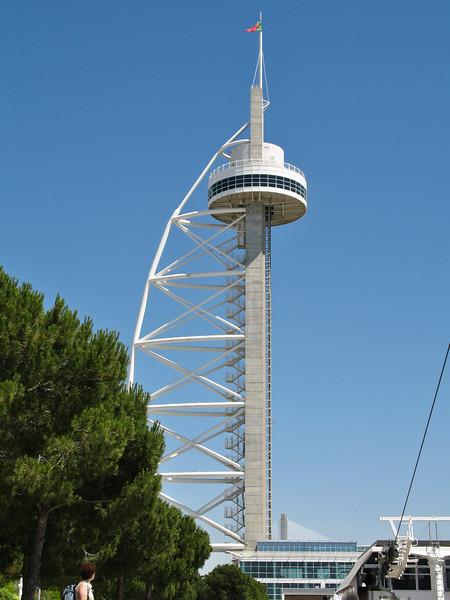 Lisbonne - Oriente - Torre Vasco da Gama