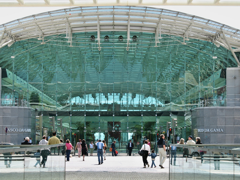 Lisbonne - Oriente - Centre commercial Vasco da Gama