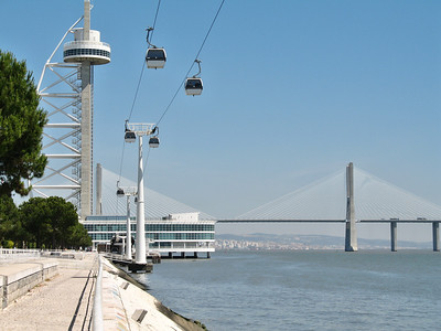 Lisbonne - Oriente - Torre Vasco da Gama, Ponte Vasco da Gama