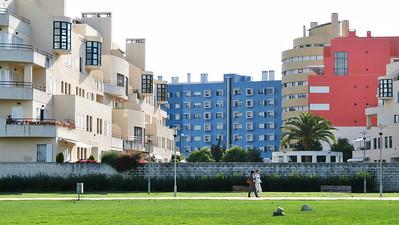 Lisbonne - Oriente - Jardim do Passeio dos Herois do Mar / Rua Ilha dos Amores