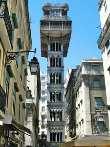 Lisbonne - Elevador de Santa Justa