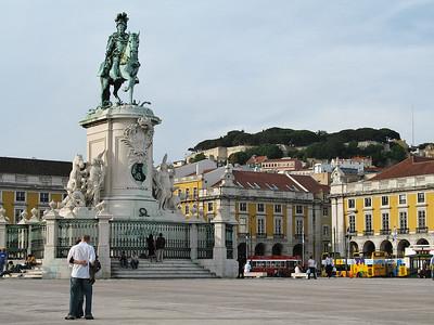 Lisbonne - Praça do Comercio