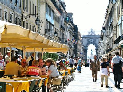 Lisbonne - Rua Augusta