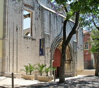 Lisbonne - Convento do Carmo, Largo do Carmo