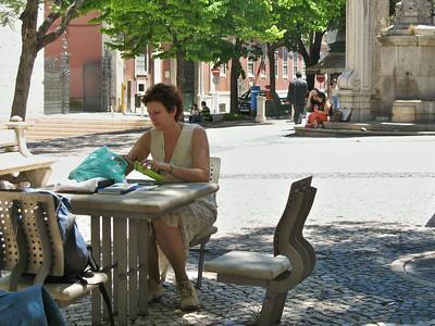 Lisbonne - Largo do Carmo