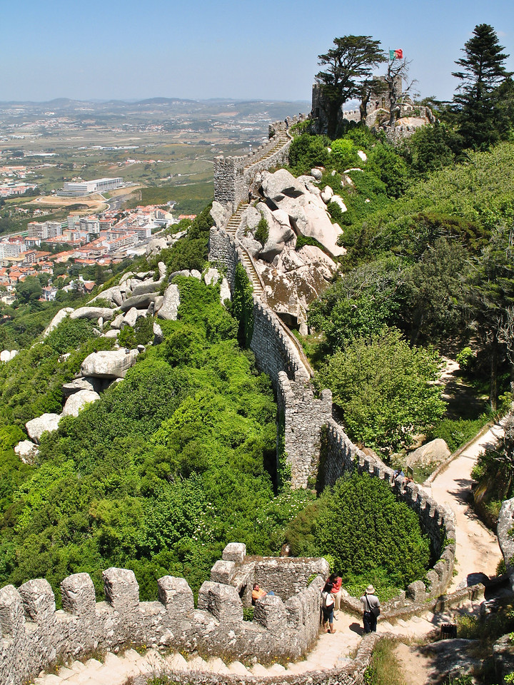 Sintra - Castelo dos Mouros