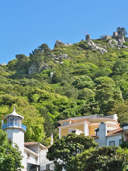 Sintra - Colline du Castelo dos Mouros