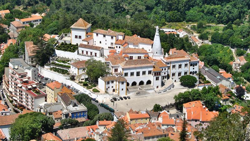 Sintra - Vue depuis le Castelo dos Mouros