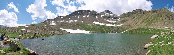 Lac Palluel, 2472 m