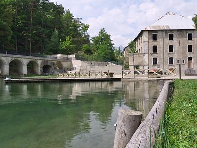 Briançon - Parc de la Schappe et l'ancienne usine