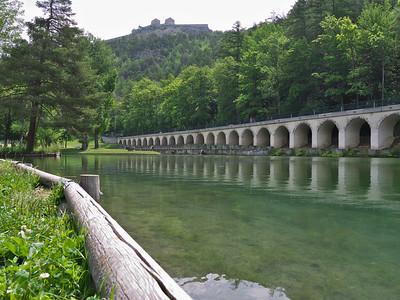 Briançon - Le parc de la Schappe et le fort des Trois Têtes