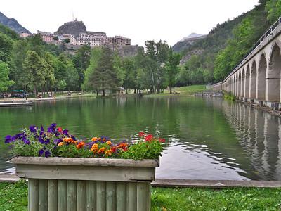 Briançon - Parc de la Schappe, en contrebas de la Cité Vauban