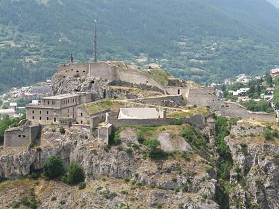 Briançon - Fort du Chateau, dominant la ville haute ou Cité Vauban