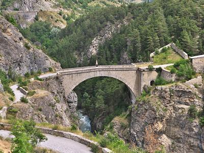 Briançon - Pont d'Asfeld sur la Durance
