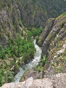 Briançon - Gorges de la Durance, en aval du Pont d'Asfeld