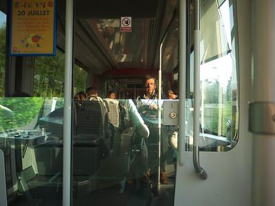 Tram T3, de Meyzieu Gare à Lyon Part-Dieu