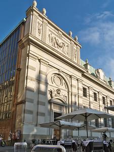 Piazza Carlo Alberto - Biblioteca Nazionale di Torino