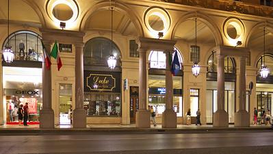 Retour à la station de métro Porta Nuova par la via Roma