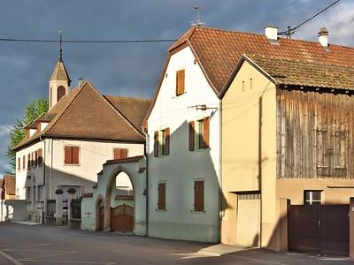 Bischwihr, près de Colmar (Etape pour se rendre en Suisse)