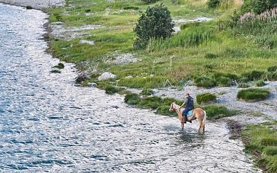 Lago di Résia - Depuis le barrage à San Valentino
