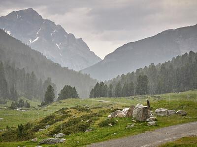 Courte randonnée au départ de Val S-charl - Averse à Plan d'Immex