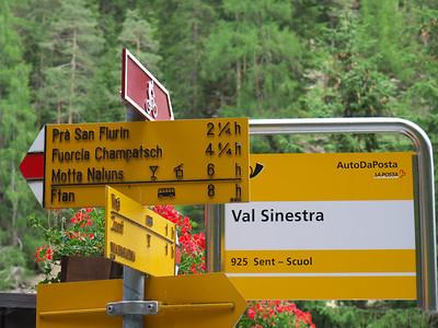Val Sinestra - Engadine - Suisse