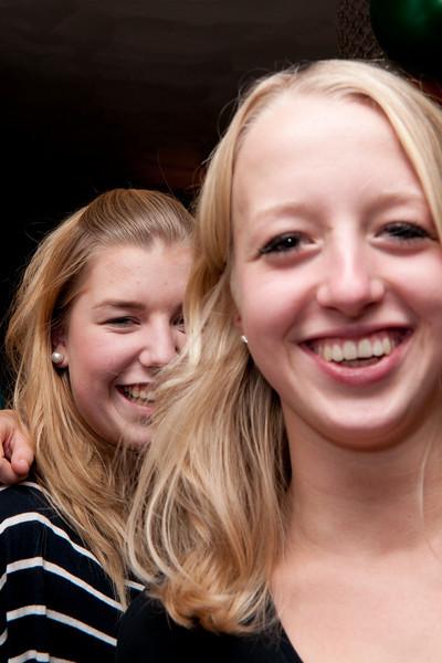 Feest Anouk, Denise & Sander 20-11-2010