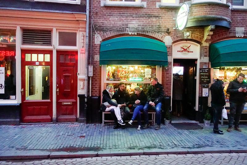 Nederland; Amsterdam; Zeedijk, 3 januari 2018; foto: Katrien Mulder