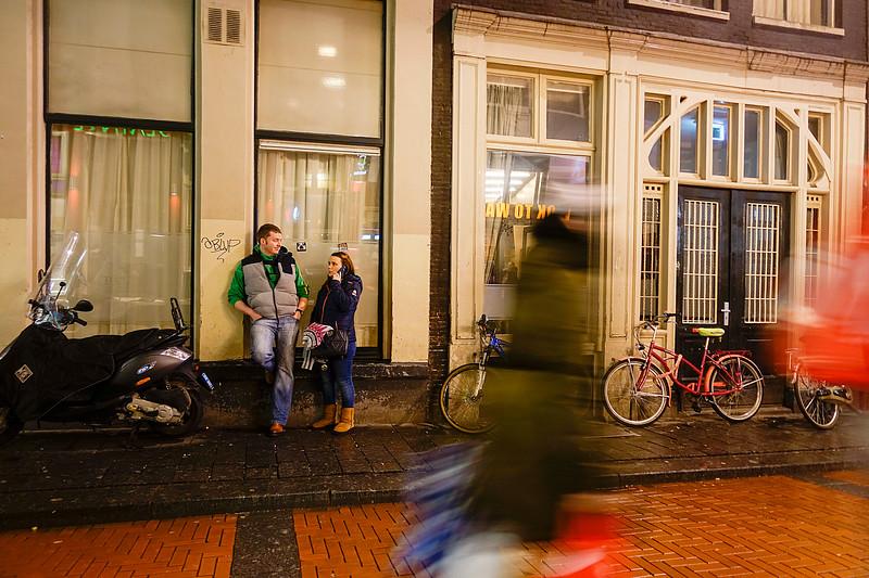 Nederland, Amsterdam, Warmoesstraat, 4 januari 2018, foto: Katrien Mulder