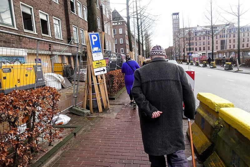 Nederland, Molukkenstraat, Amsterdam, 18 januari 2018, foto: Katrien Mulder