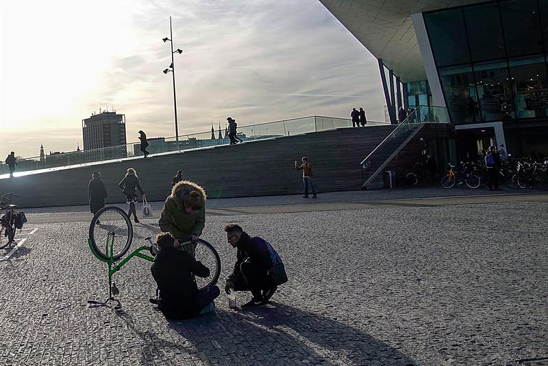 Nederland, Amsterdam, Eye, 16 februari 2018, foto: Katrien Mulder