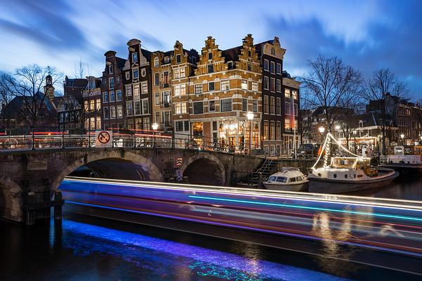 Keizersgracht in de avond, Amsterdam